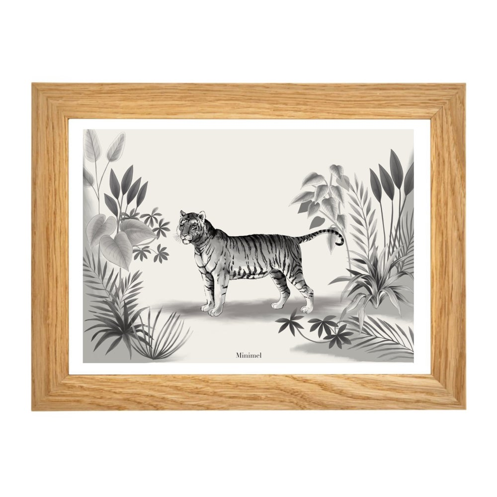 Image of Affiche A4 Shere Khan