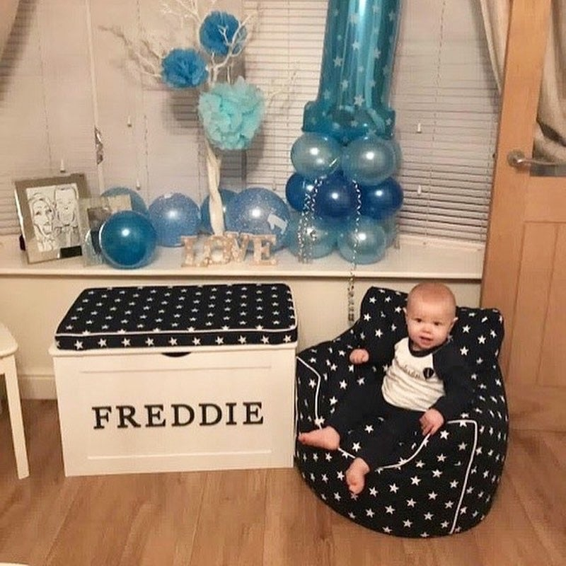 Image of BOYS Personalised Squishy Chair