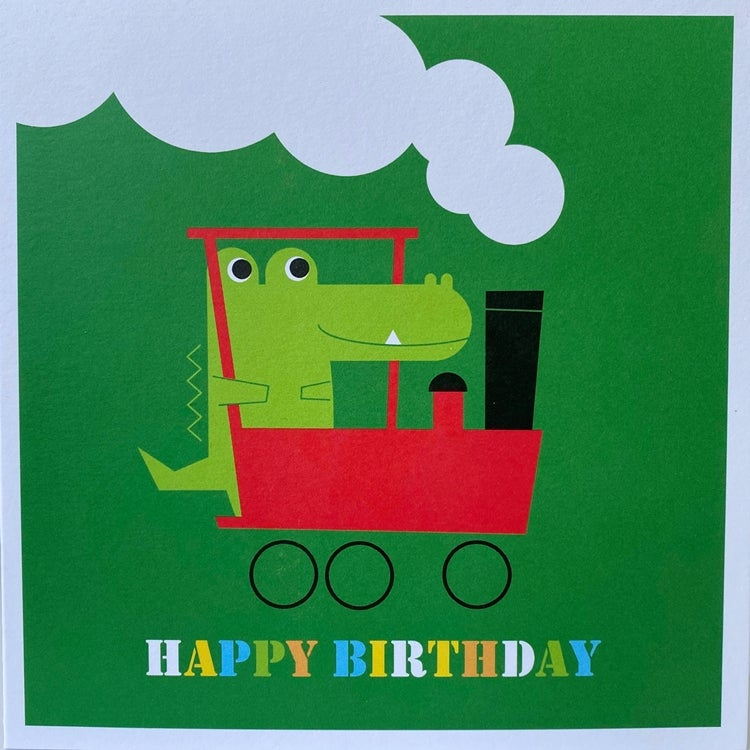 Image of Animal and Transport Happy Birthday Cards