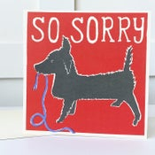Image of So Sorry Dog Card