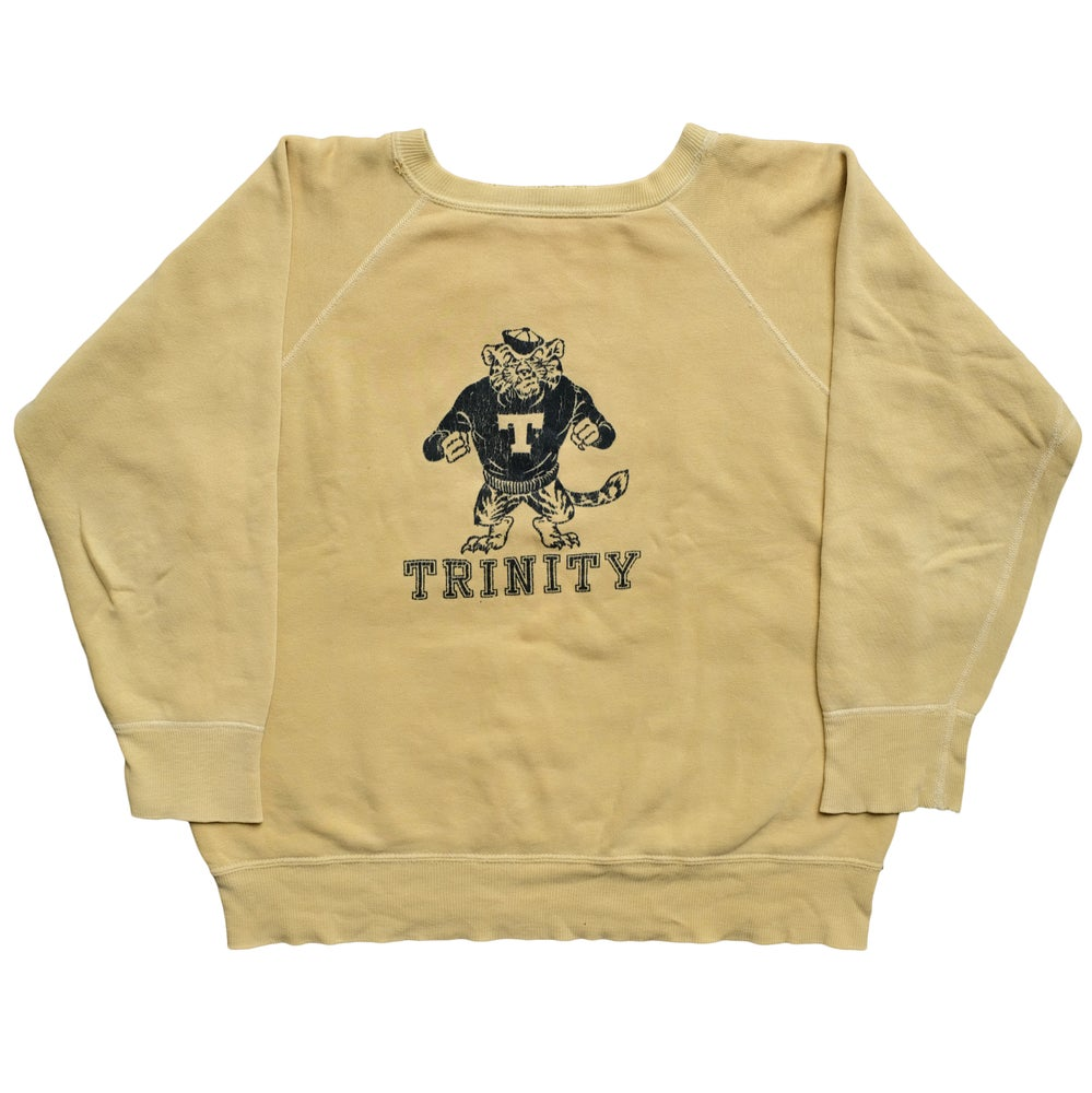 Image of Vintage 50s/60s Front/Back Print College Sweat