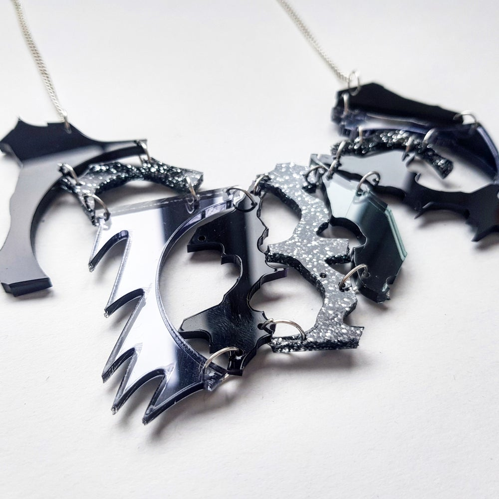 Image of Black Zero Waste Necklace