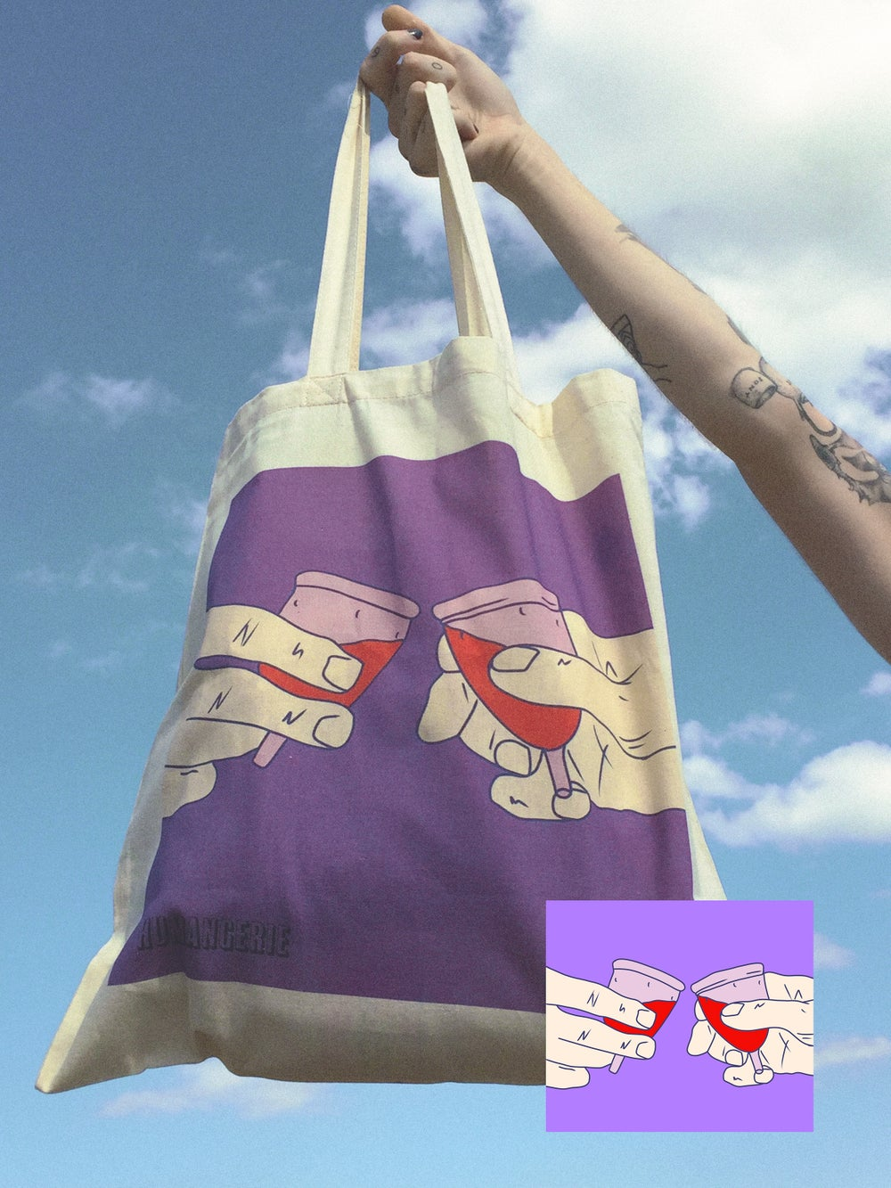Image of Cheering Cups Shopper