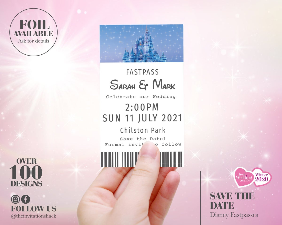 Disney Fastpass Save the Date