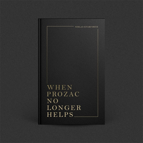 "Image of Niklas Kvarforth ""When Prozac No Longer Helps"" BOOK (Blood Edition)"