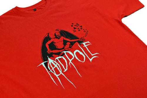 Image of DEVIL TEE - RED