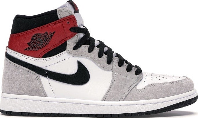 "Image of Nike Retro Air Jordan 1 Retro High ""Light Smoke Grey"" Mens"
