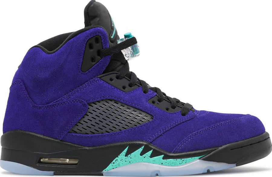 "Image of Nike Retro Air Jordan 5 Retro ""Alternate Grape"" Sz 9"