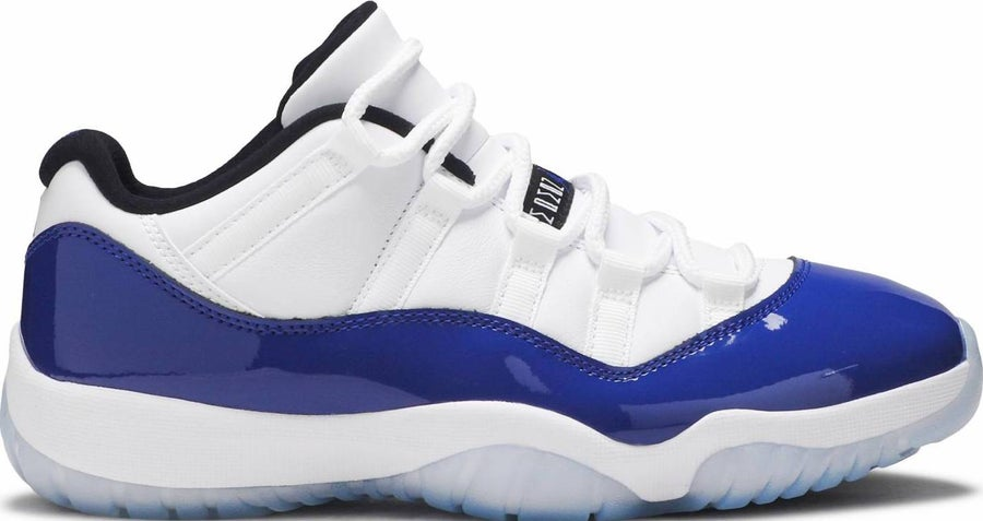 "Image of Nike Retro Air Jordan 11 Low ""White Concord"" (Womens) Sz 12W"