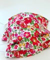 Liberty Red Betsy cotton face covering