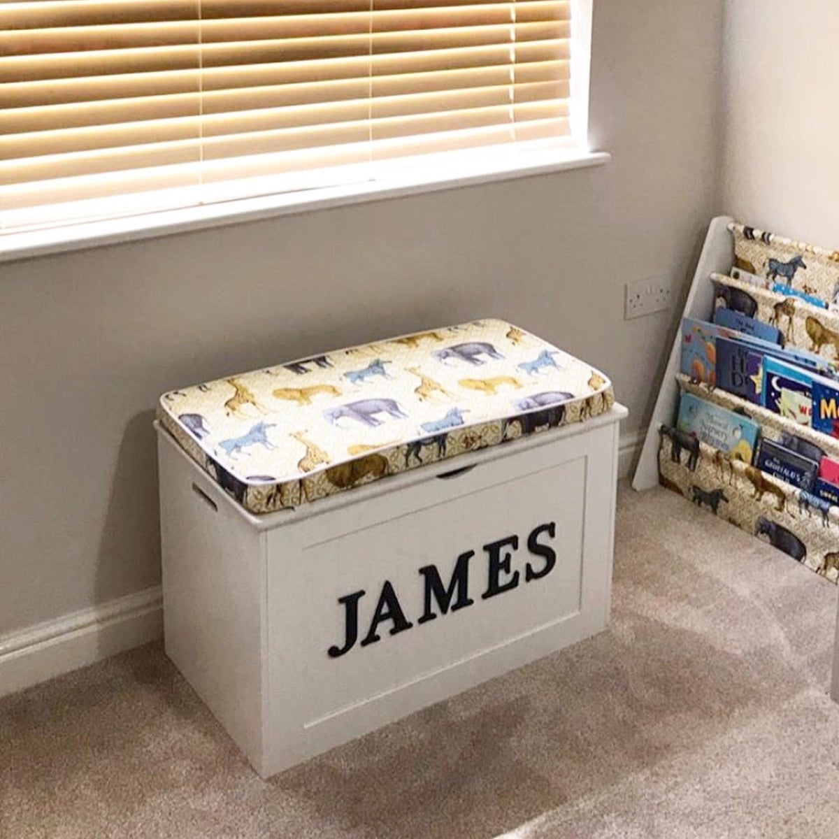 Image of Personalised Chest - Cushion Top - CUSTOMERS OWN FABRIC