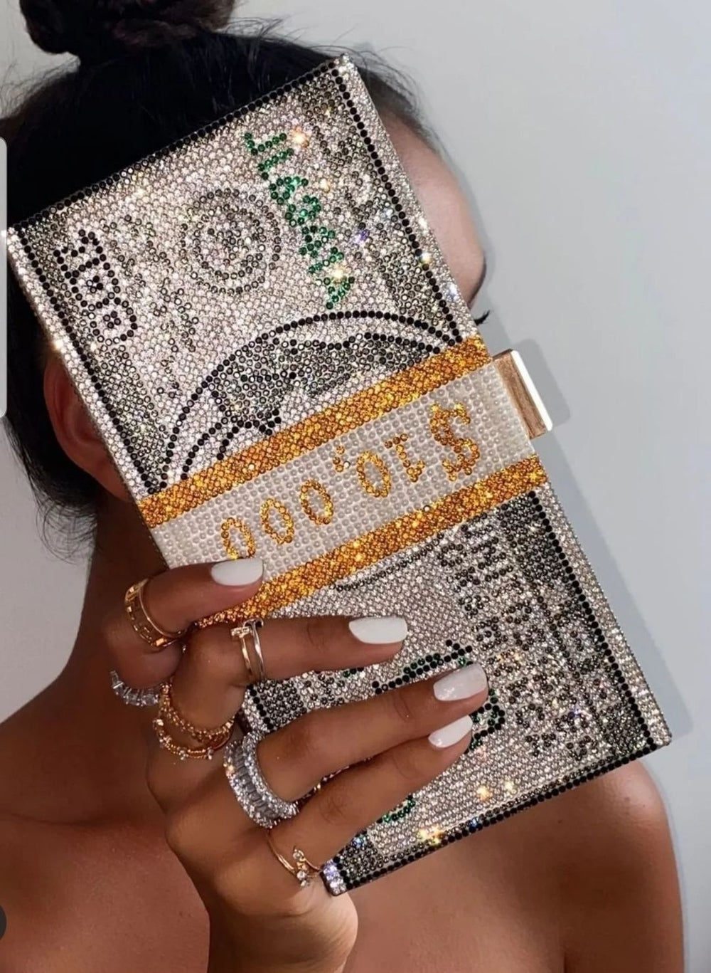 Image of Stack Of Cash Clutch