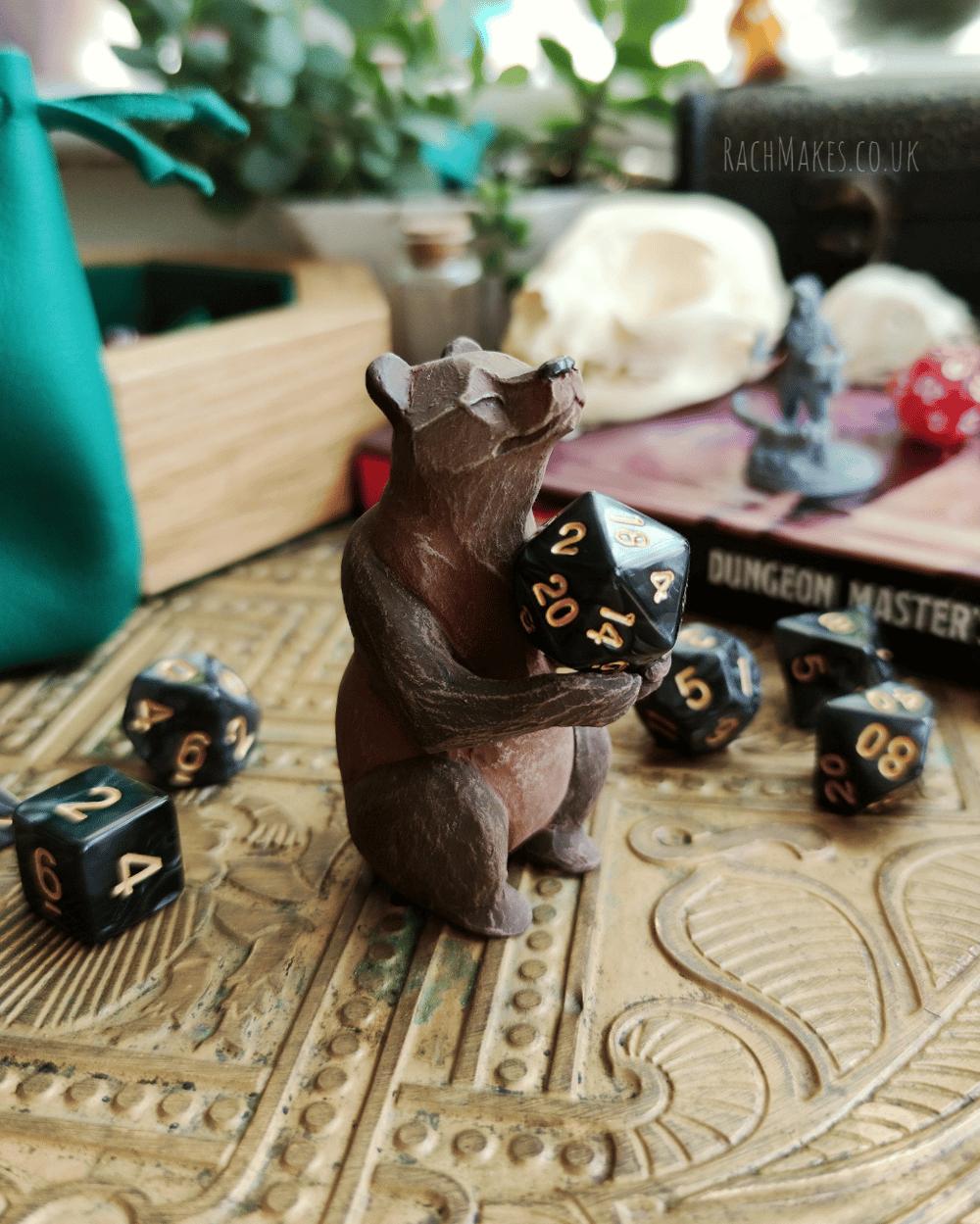 Image of Bear Dice Guardian