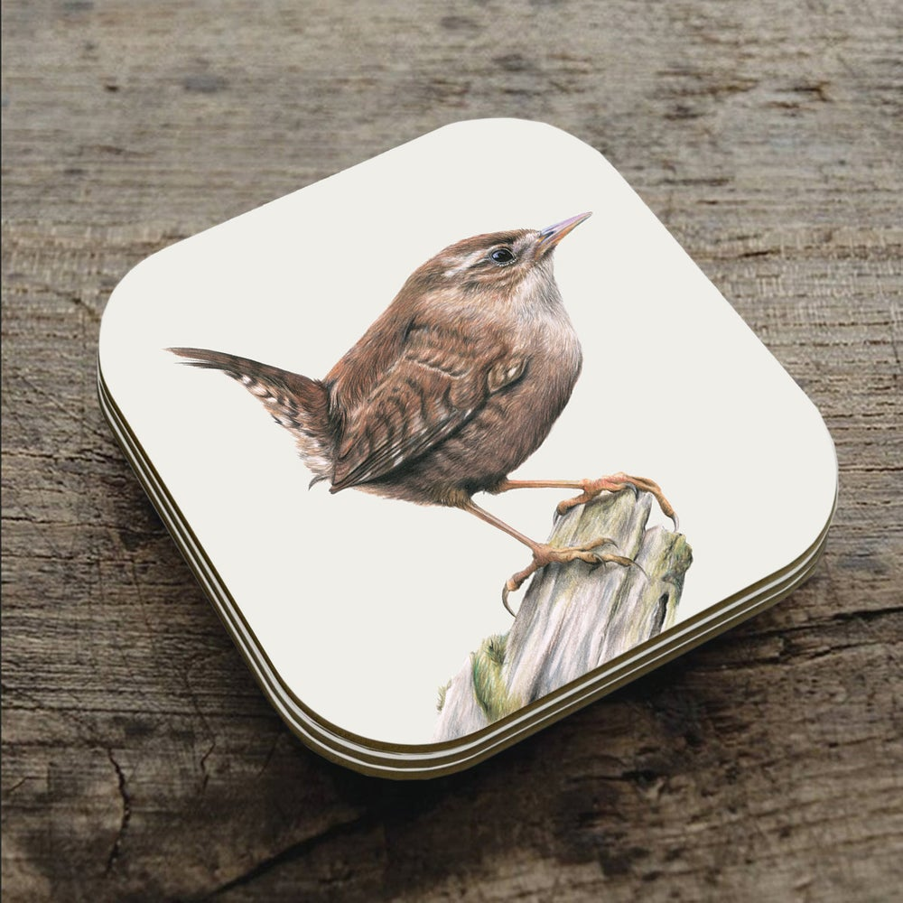 Image of 'Wren' Coaster