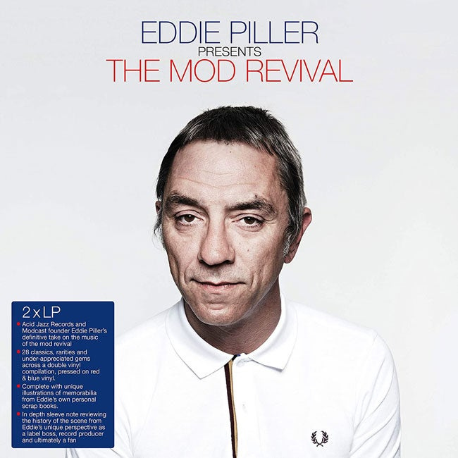 Image of Eddie Piller Presents The Mod Revival (Double LP) Pre-order