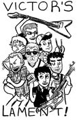 Image of NEW! Cartoon Band Sticker