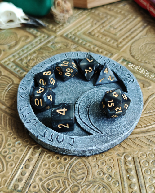 Image of Lunar dais dice display base