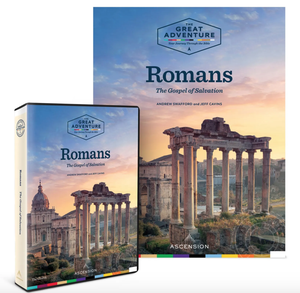 Image of Romans: The Gospel of Salvation by Dr. Andrew Swafford and Jeff Cavins, DVD