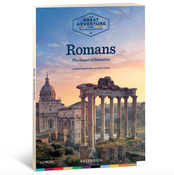 Image of Romans: The Gospel of Salvation by Dr. Andrew Swafford and Jeff Cavins, Workbook