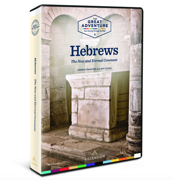 Image of Hebrews: The New and Eternal Covenant Dr. Andrew Swafford and Jeff Cavins, DVD and Workbook