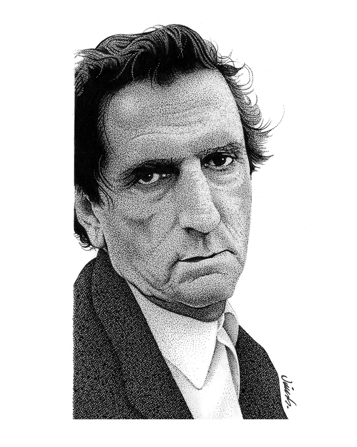 Image of HARRY DEAN STANTON poster print
