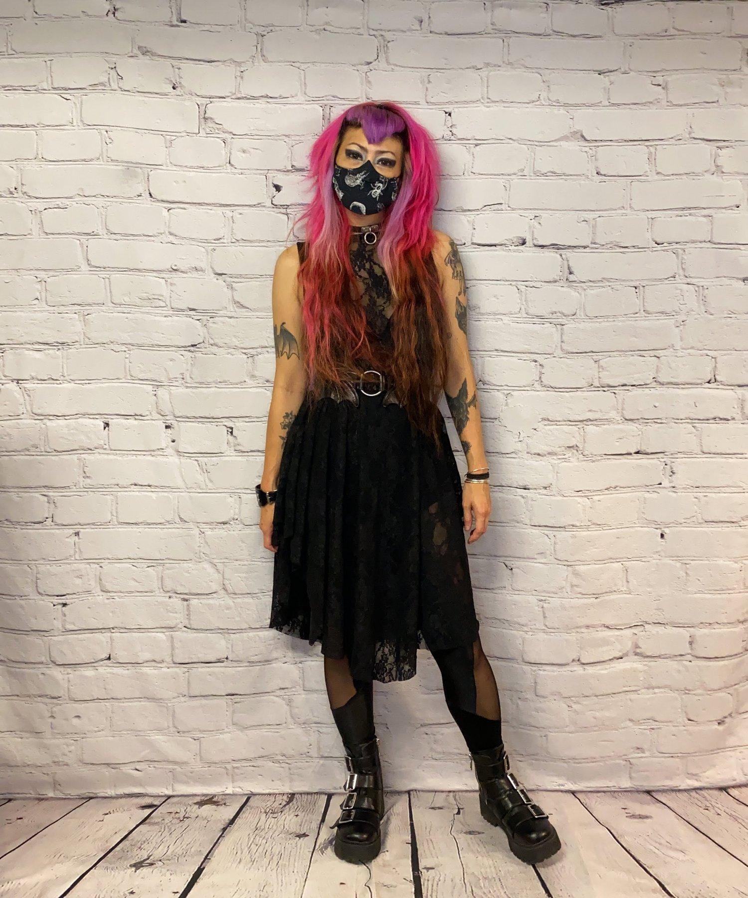 Image of Midi Countess Lace Dress