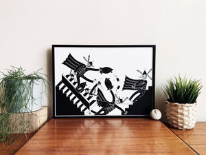 Staircase pursuit (A3) print