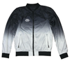 Monochrome Ombre Design Bomber Jacket
