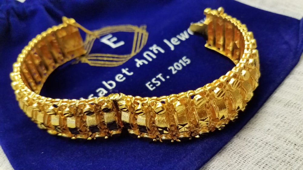 Image of Gold Clasp Bangle