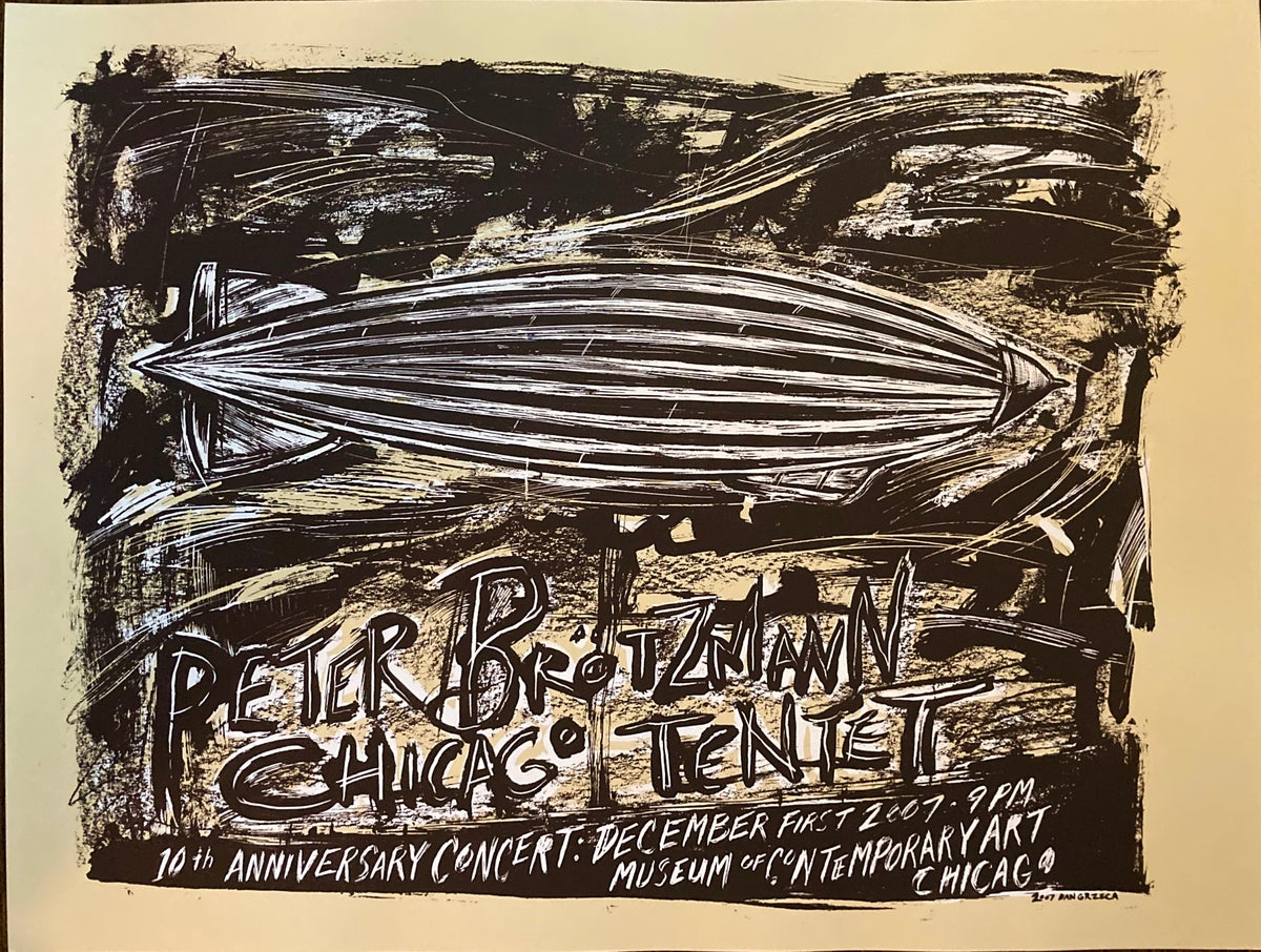 Peter Brotzmann Chicago Tentet MCA Poster