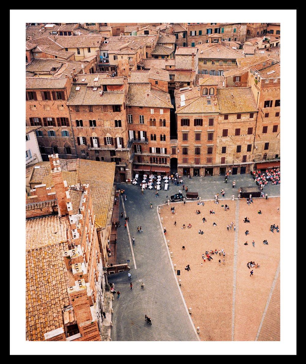 Image of Piazza del Campo. Siena, Italy. 2008