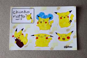 Image of chunko ratto sticker sheet (vol. 1)