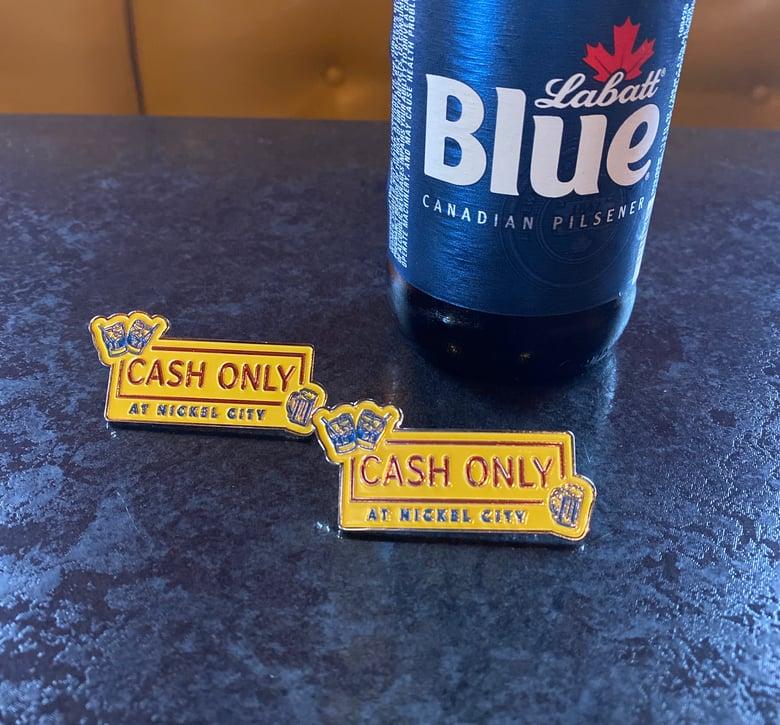 Image of Cash Only Enamel Pin