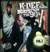 Image of K-DEF Presents BEATS FROM THE 90's VOL. 3 LP (LIMITED EDITION)