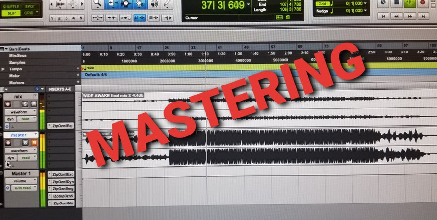 Image of Song Mastering