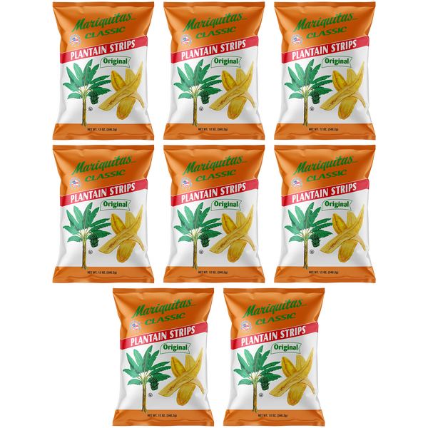 Image of Mariquitas Plantain Strips (12oz Family Size, 8 Pack)