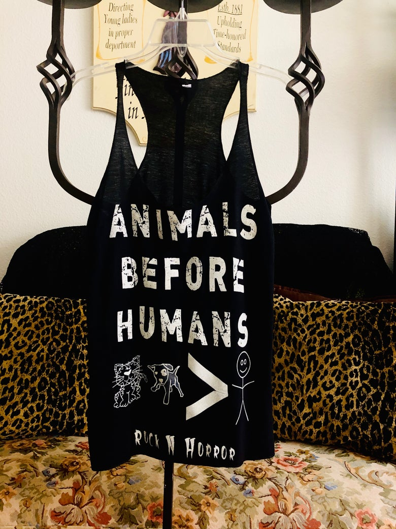Image of Animals Before Humans Women's Tank