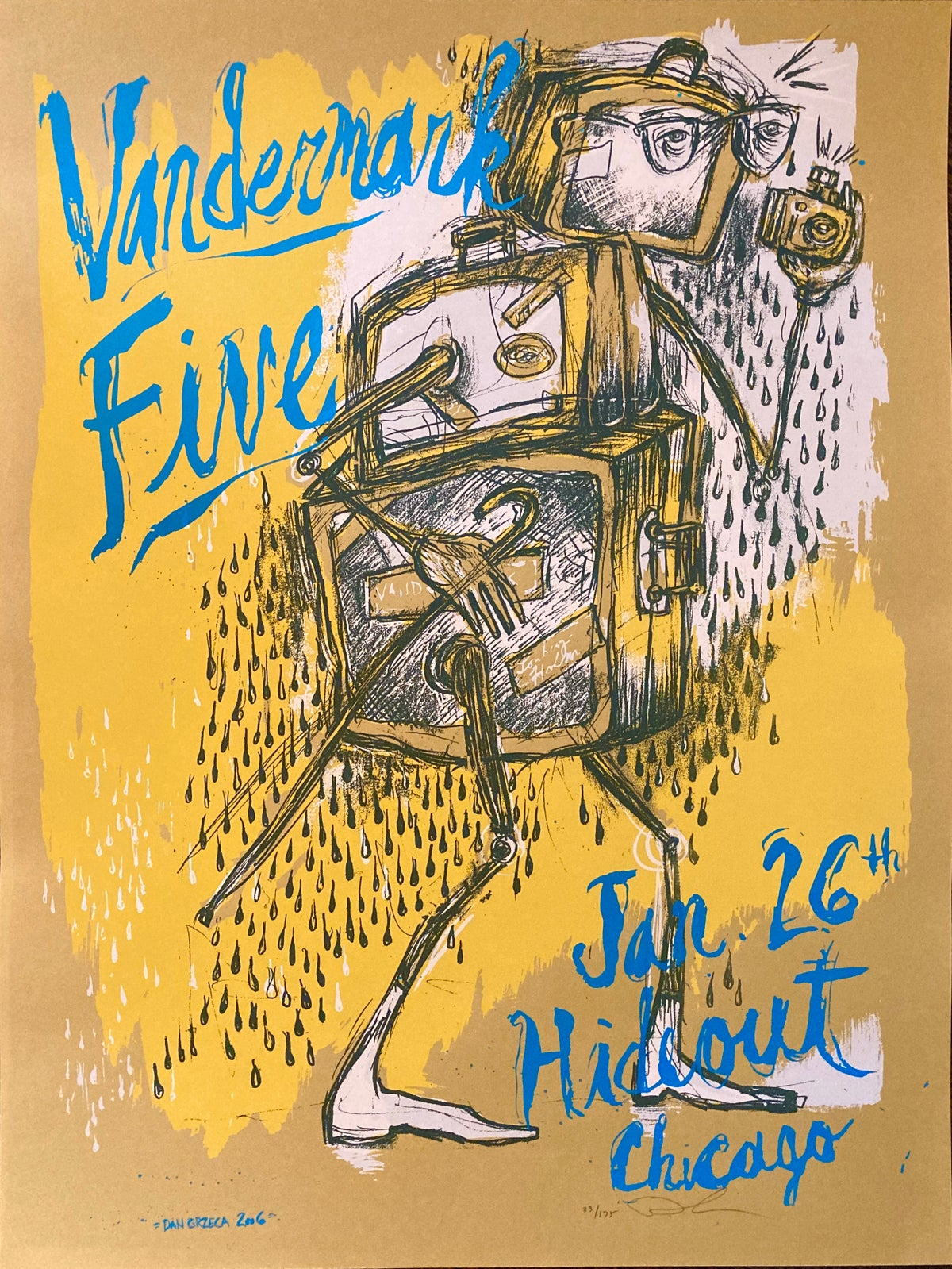 Vandermark Five at The Hideout 2006