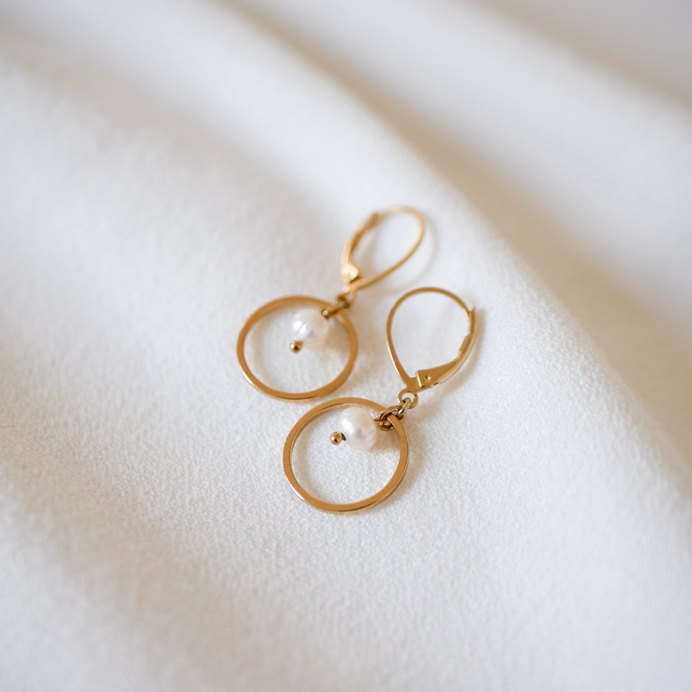 Image of Boucles d'Oreilles OXANA Mini Loop