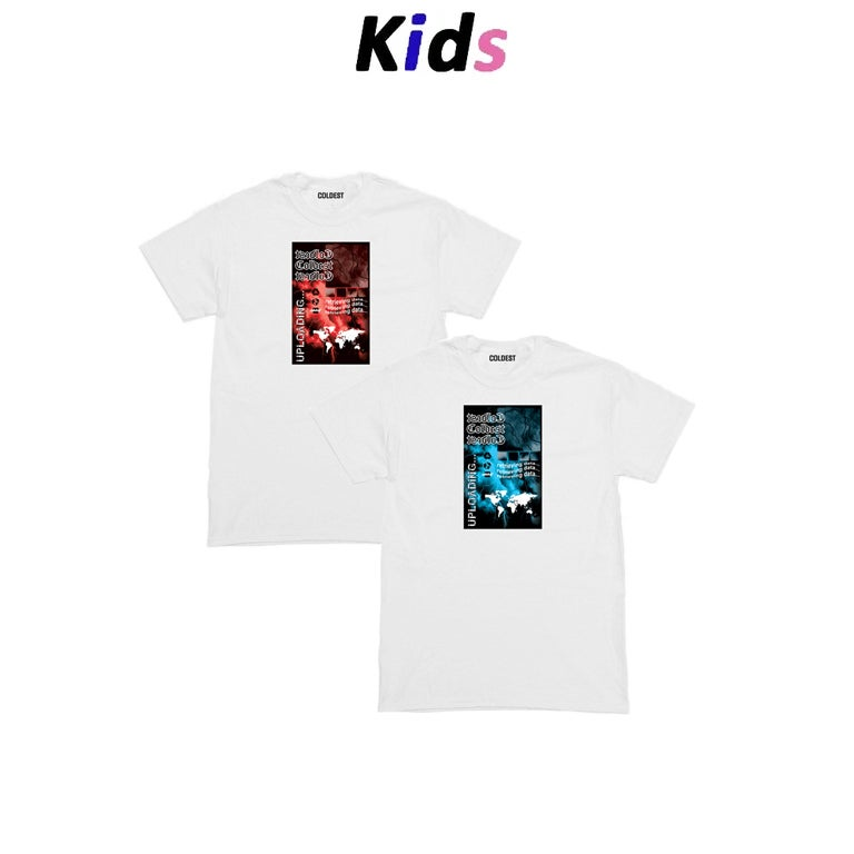 KIDS · THUNDER GRAPHIC T-SHIRT WHITE
