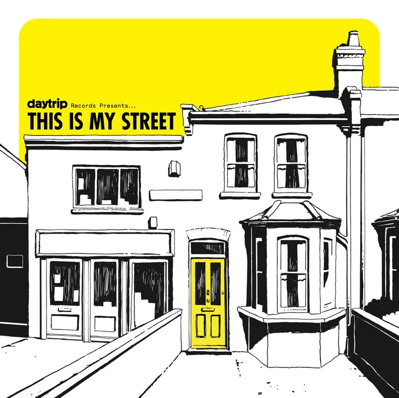 "Image of VARIOUS ARTISTS: This Is My Street (Kinks Tribute 12"" on Daytrip Records)"