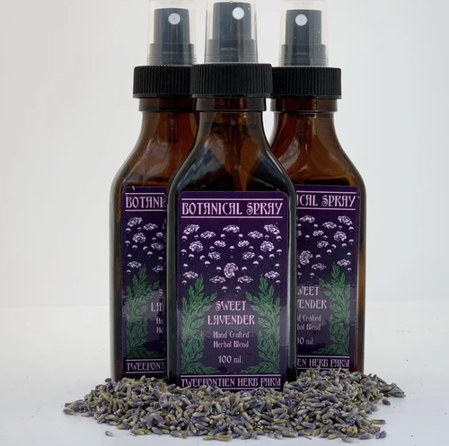Image of  Botanical Sprays 3 options: Sweet Lavender, Wild Rose, or Sacred Smudge
