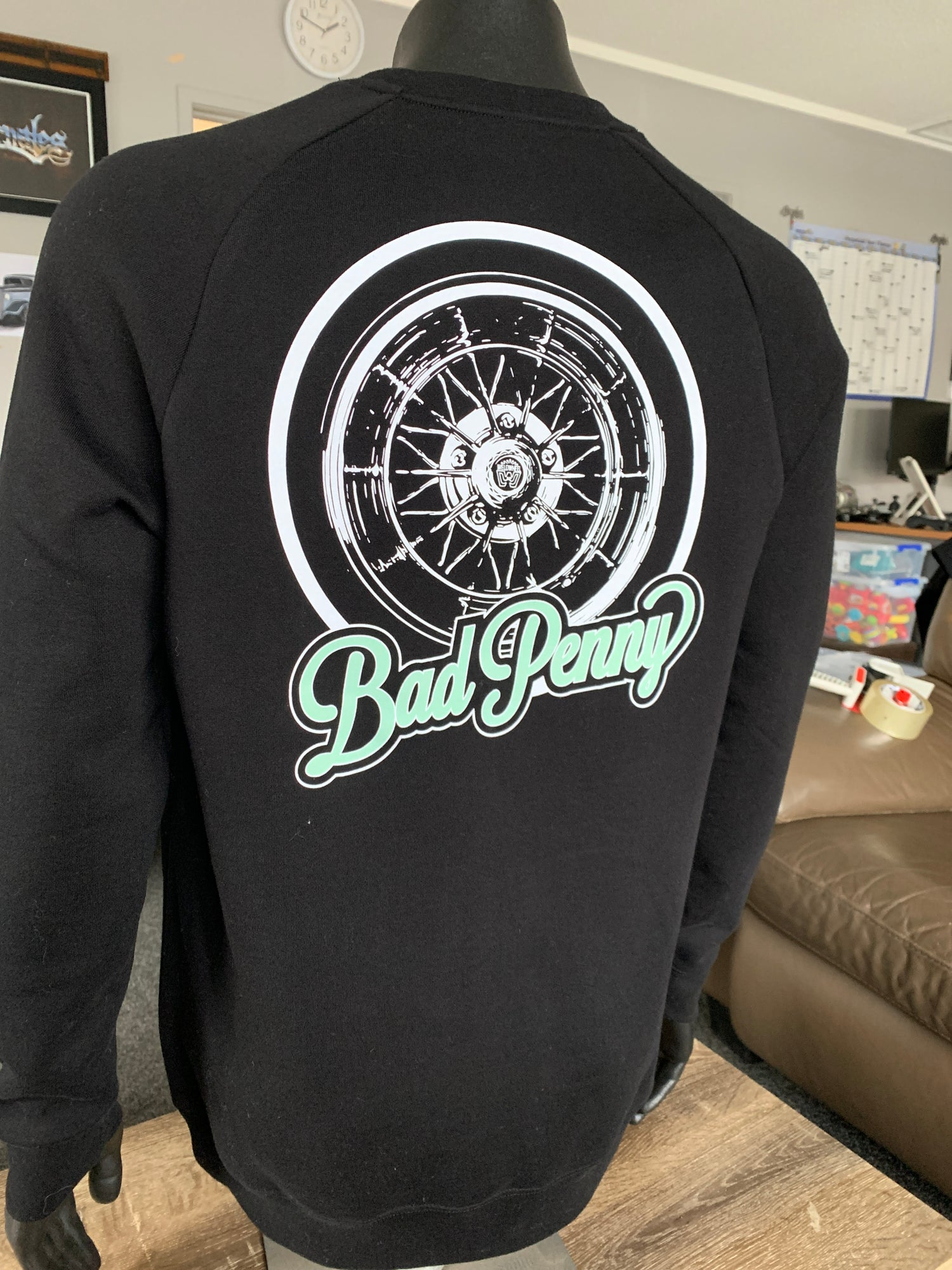 Image of Bad Penny Star Wire Crewneck Sweatshirt