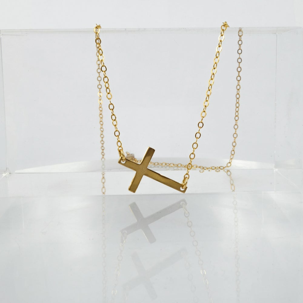Image of Sterling silver Cross penant