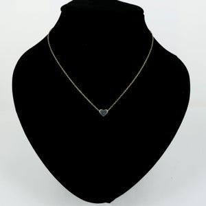 Image of Sterling silver heart necklace  - P0940