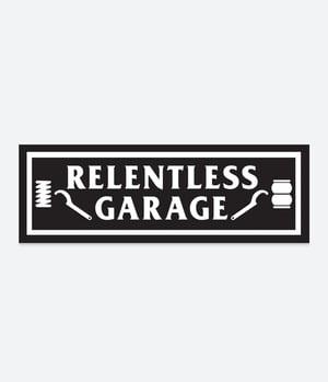 Image of Relentless Garage Slap Sticker