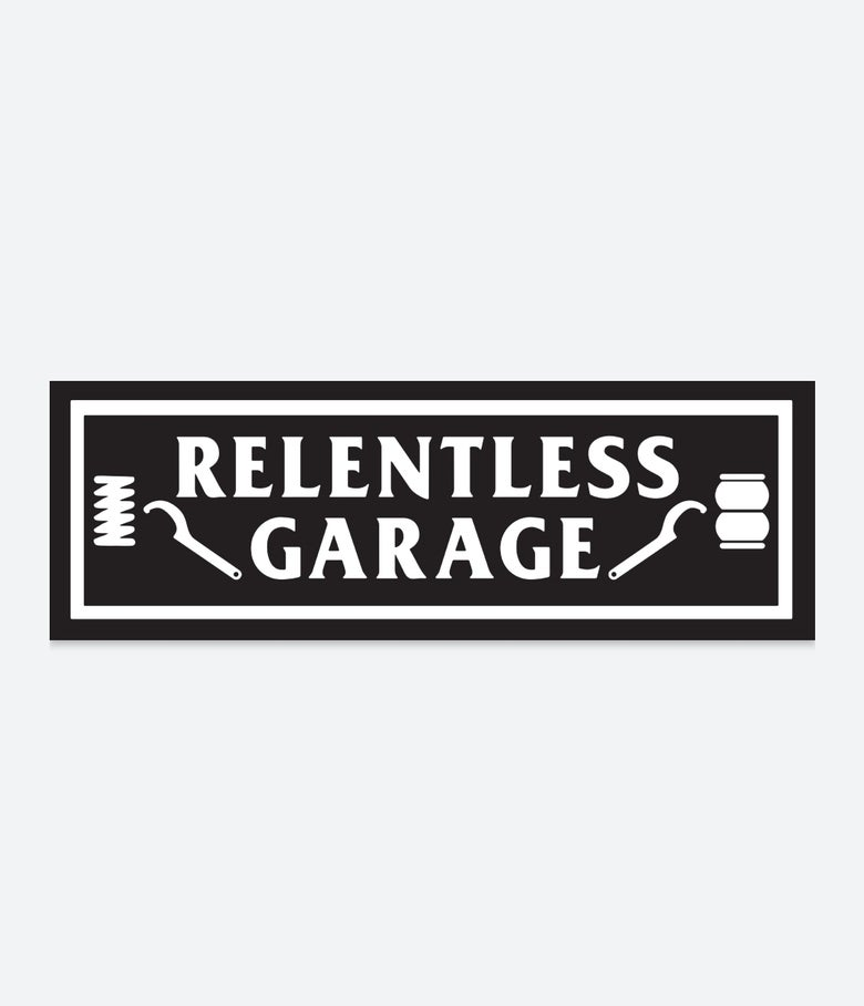 Image of Relentless Garage Slap Sticker