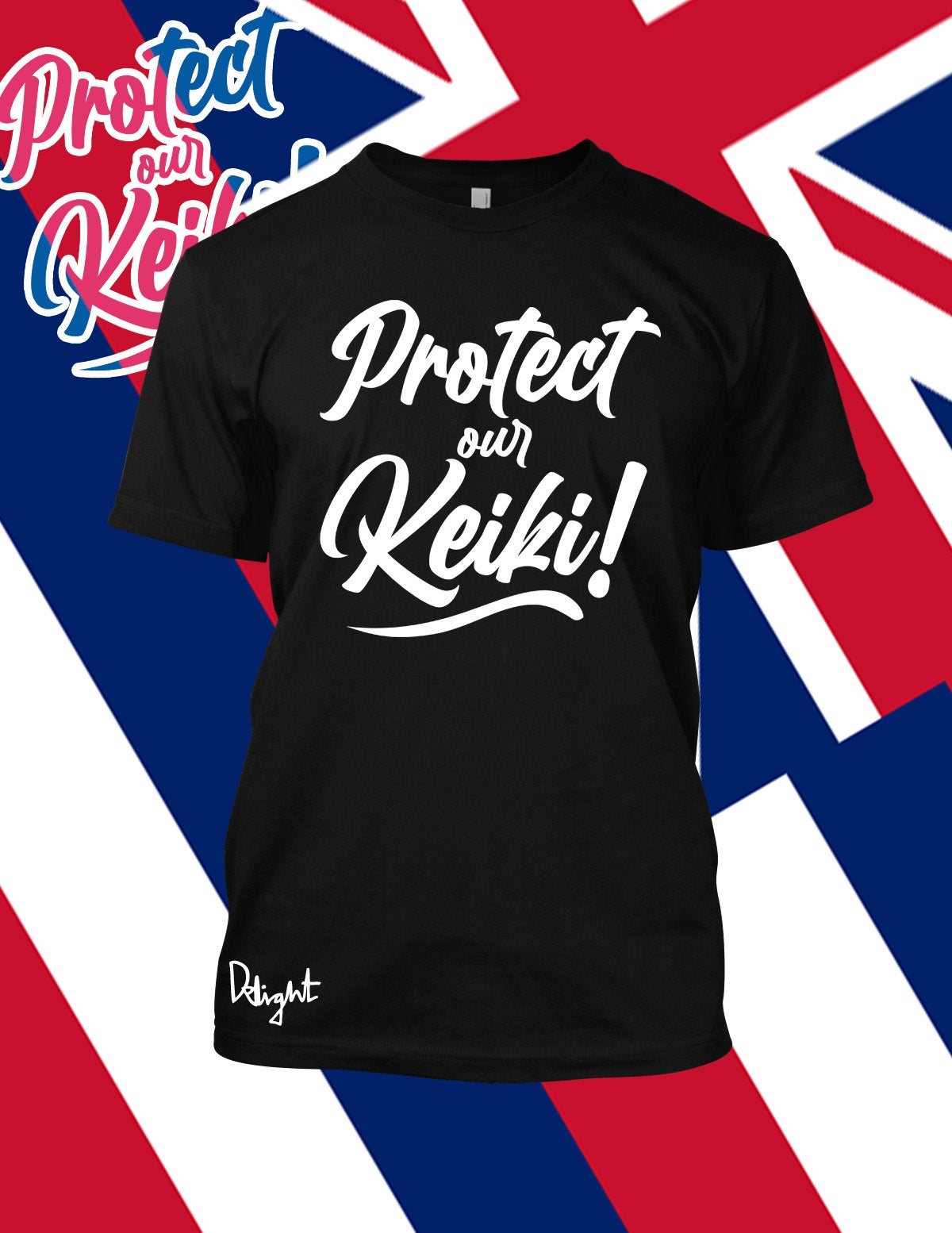 Protect Our Keiki! Black t-shirt (Youth and Adult sizes)
