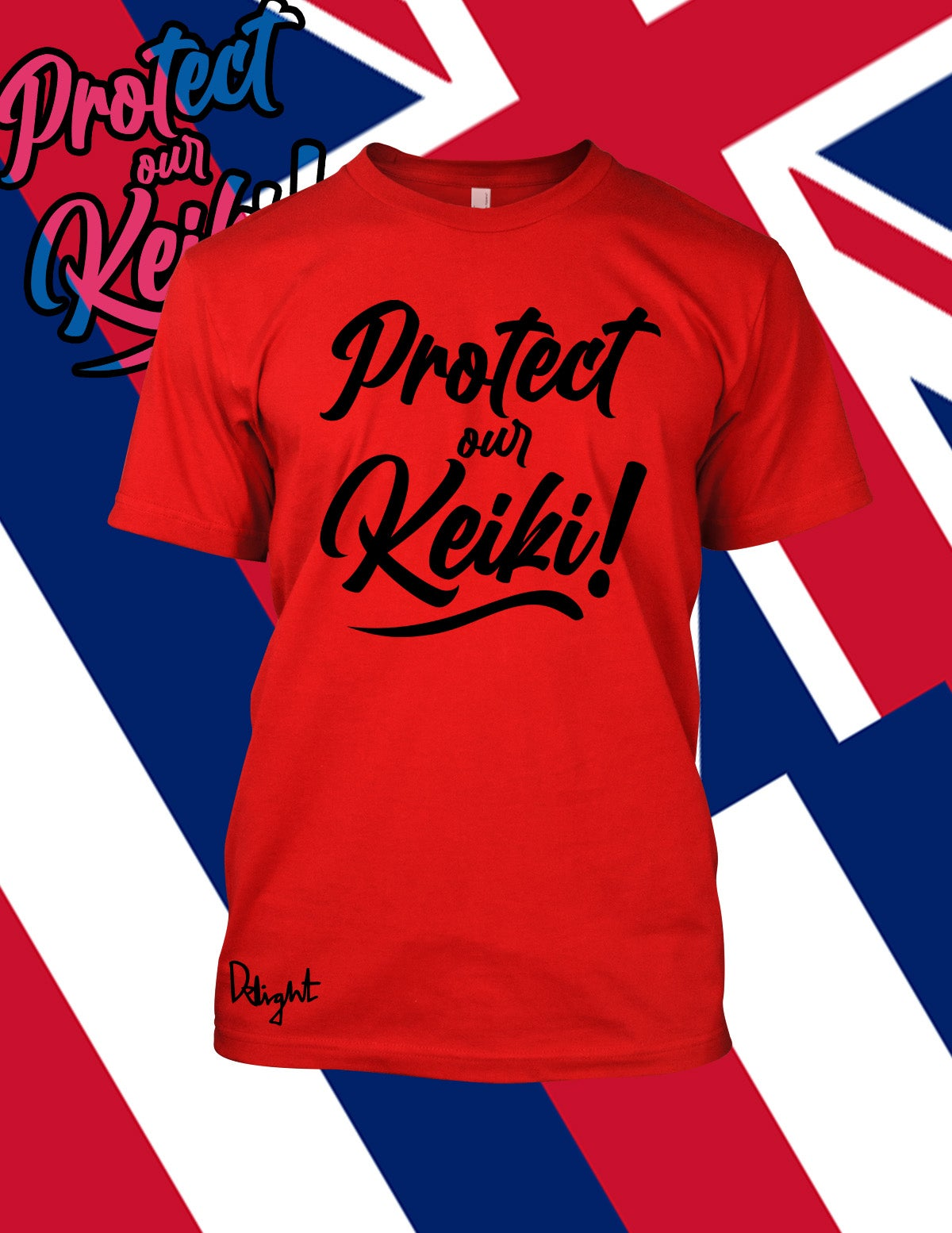 Protect Our Keiki! Red t-shirt