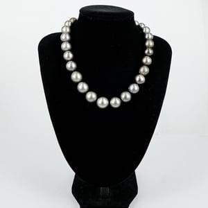 Image of Strand of Tahitian pearls